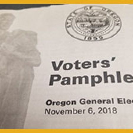 Voter's Pamphlet – Questions and Answers with Charlie Hinkle